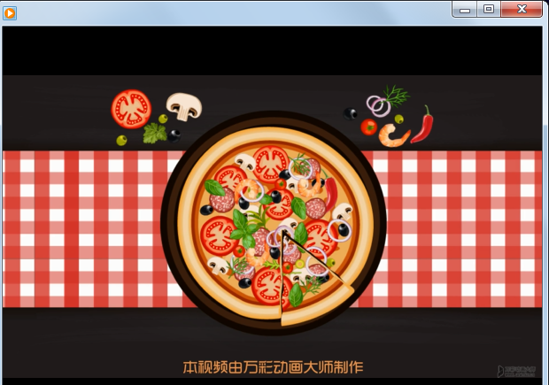 添加字幕视频效果