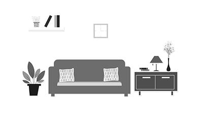 家居装饰宣传动画